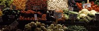 """Vegetables at Pike Place Market, Seattle, Washington by Panoramic Images - 36"""" x 12"""" - $34.99"""