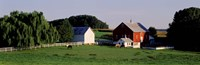 """Farm, Baltimore County, Maryland, USA by Panoramic Images - 36"""" x 12"""""""