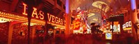 "View of Fremont Street Las Vegas NV USA by Panoramic Images - 36"" x 12"" - $34.99"