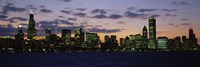 Chicago Skyline at Dusk by Panoramic Images - various sizes