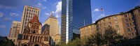 """USA, Massachusetts, Boston, Copley Square by Panoramic Images - 36"""" x 12"""""""