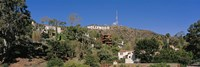 USA, California, Los Angeles, Hollywood Sign at Hollywood Hills Fine Art Print