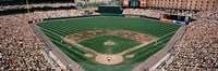 "Camden Yards Baseball Field Baltimore MD by Panoramic Images - 36"" x 12"""