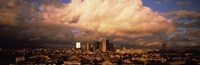 "Los Angeles Under Clouds by Panoramic Images - 36"" x 12"""