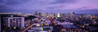 "San Diego Skyline at dusk by Panoramic Images - 36"" x 12"""
