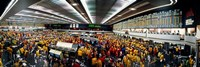 "Traders in a stock market, Chicago Mercantile Exchange, Chicago, Illinois, USA by Panoramic Images - 36"" x 12"""