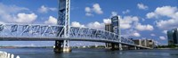 Main Street Bridge, Jacksonville, Florida, USA Fine Art Print