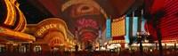 "Fremont Street Las Vegas NV USA by Panoramic Images - 36"" x 12"""