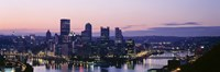 "USA, Pennsylvania, Pittsburgh, Monongahela River by Panoramic Images - 36"" x 12"" - $34.99"