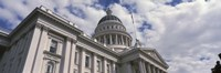 USA, California, Sacramento, Low angle view of State Capitol Building Fine Art Print