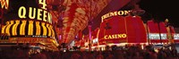 """Fremont Street, Las Vegas, Nevada, USA by Panoramic Images - 36"""" x 12"""""""