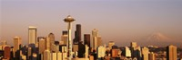 """Skyline, Seattle, Washington State, USA by Panoramic Images - 36"""" x 12"""", FulcrumGallery.com brand"""