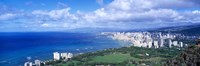 Blue Waters of Waikiki, Hawaii Fine Art Print