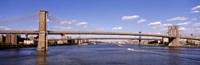 "Brooklyn Bridge, NYC, New York City by Panoramic Images - 36"" x 12"""