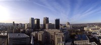 """Buildings in a city, Birmingham, Jefferson county, Alabama, USA by Panoramic Images - 36"""" x 12"""""""