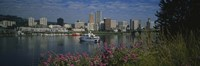 "Boat in the sea, Portland, Oregon, USA, 1999 by Panoramic Images, 1999 - 36"" x 12"""