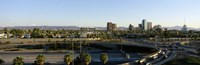 """Traffic moving on the road, Phoenix, Arizona, USA by Panoramic Images - 36"""" x 12"""""""