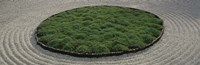 """High angle view of a Japanese garden, Portland, Oregon, USA by Panoramic Images - 36"""" x 12"""", FulcrumGallery.com brand"""