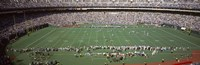 "Football Game at Veterans Stadium, Philadelphia, Pennsylvania by Panoramic Images - 36"" x 12"""