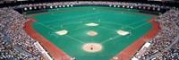Phillies vs Mets baseball game, Veterans Stadium, Philadelphia, Pennsylvania, USA Fine Art Print