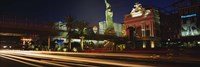 """Traffic on a road, Las Vegas, Nevada, USA by Panoramic Images - 36"""" x 12"""""""