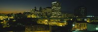 "Newark, New Jersey at Night by Panoramic Images - 36"" x 12"""