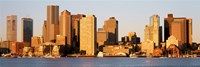 "Sunrise, Skyline, Boston, Massachusetts, USA by Panoramic Images - 36"" x 12"""