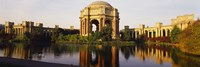 """Buildings at the waterfront, Palace Of Fine Arts, San Francisco, California, USA by Panoramic Images - 36"""" x 12"""""""