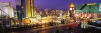 """MGM Grand and Roller Coaster, Las Vegas by Panoramic Images - 36"""" x 12"""""""