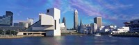 """Cleveland, Ohio Skyline from the Waterfront by Panoramic Images - 36"""" x 12"""""""