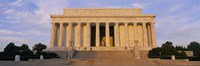 Facade of a memorial building, Lincoln Memorial, Washington DC, USA Fine Art Print