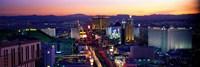 The Strip, Las Vegas, Nevada, USA Fine Art Print