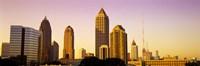 "Sunrise, Atlanta, Georgia, USA by Panoramic Images - 36"" x 12"""