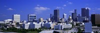 "Atlanta, Georgia (bright blue sky) by Panoramic Images - 36"" x 12"""