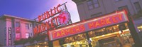 """The Public Market Seattle WA USA by Panoramic Images - 36"""" x 12"""""""