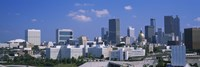 View of skyscrapers in Atlanta on a sunny day, Georgia, USA by Panoramic Images - various sizes