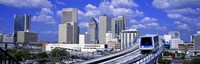 """Metro Mover Shuttle Miami, Florida, USA by Panoramic Images - 36"""" x 12"""""""