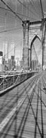 Brooklyn Bridge Manhattan New York City NY USA Fine Art Print