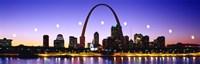 Skyline St Louis Missouri USA Fine Art Print