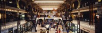 """Interiors of a shopping mall, Bourse Shopping Center, Philadelphia, Pennsylvania, USA by Panoramic Images - 36"""" x 12"""""""