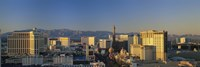 "High Angle View Of Buildings In Las Vegas, Nevada by Panoramic Images - 36"" x 12"""
