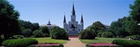 St Louis Cathedral Jackson Square New Orleans LA USA Fine Art Print