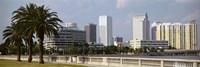 Skyline Tampa FL USA Fine Art Print