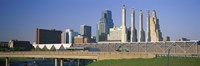 """Bartle Hall Kansas City MO by Panoramic Images - 36"""" x 12"""""""