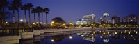 """Orlando waterfront, Florida by Panoramic Images - 36"""" x 12"""", FulcrumGallery.com brand"""