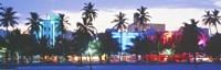 "South Beach Miami Beach Florida USA by Panoramic Images - 36"" x 12"""