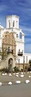 "San Xavier del Bac Tucson AZ by Panoramic Images - 12"" x 36"""