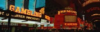 """Fremont Street Experience Las Vegas NV by Panoramic Images - 36"""" x 12"""""""