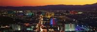 Hotels Las Vegas NV Fine Art Print