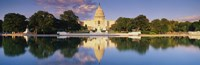 US Capitol Reflecting, Washington DC Fine Art Print